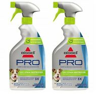2 Pack Bissell Pro Oxy Deep Stain Destroyer Pretreat Pet Plus Odor Remover 22 oz