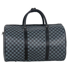 Travel Holdall Weekend Gym Hospital Bag Unisex Cabin Hand Luggage Checked Plain