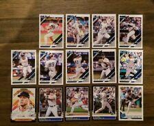 2019 Donruss Baseball New York Yankees Master Team Set (14 cards) Judge Torres