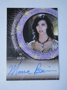 Stargate SG-1 Morena Baccarin Signed Autograph Card as Andria  2008