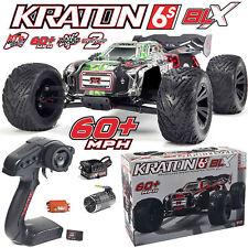 Arrma 2018 1/8 Kraton 6s sans Brosse 4wd Monster Truck Rtr Noir/Vert Ar106031