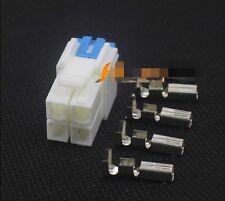 5Pcs YAESU Yaesu 4-pin power plug FT-450 KENWOOD TS-48 other machines Universal