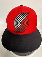 Mitchell & Ness Hat NBA Portland Trail Blazers Fitted Size 7 Baseball Cap
