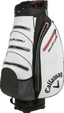 Callaway Aqua Dry Cart Bag White/Black/Red