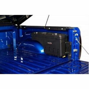 UnderCover SC104P Storage Box Passenger Side Black For 19+ Silverado Sierra 1500