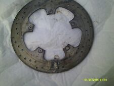 gilera cougar 125 front brake disc ,,not toobad