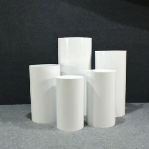 Round Cylinder Pedestal Display Decor Plinths Pillars for DIY Wedding Decoration