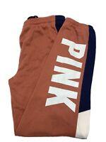 NWT victoria's Secret PINK graphic Campus Pants Sweatpants Size Xs
