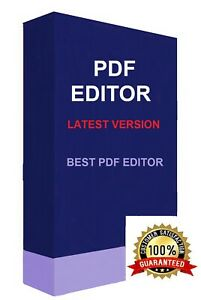 Pro PDF Editor - Lifetime License | Creator | Reader | Viewer | Converter