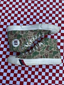 Pro Ked Camouflage Camo Hi Tops Like Converse Chuck Taylor Sneakers Uk9