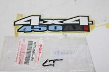 STICKER ARRIERE pour SUZUKI KINGQUAD 4X4 450 AXi ref: 68171-11HB0-JRH * ORIGINAL