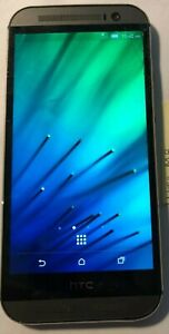 [BROKEN] HTC One M8 6525L Gray (Verizon) Fast Ship Cracked Glass Parts