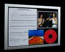 RED HOT CHILI PEPPERS Parallel Universe LTD Numbered CD QUALITY FRAMED DISPLAY!!