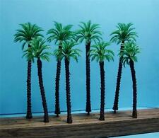 HO SCALE-8 PIECE PACKAGE OF MODEL COCONUT PALM TREES-2 SIZES-4 OF EACH SIZE