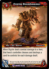 WOW WARCRAFT TCG BETRAYAL OF THE GUARDIAN : ORGRIM DOOMHAMMER X 3