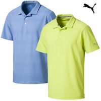 Puma Golf Men's Aston Fade Stripe Polo Shirts - NEW! *OVER 40% OFF!*