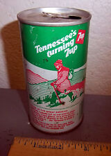 Vintage 7up can, Tennessee's turning 7up graphic great smokies, nice collectible