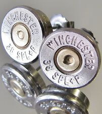 38 Special WINCHESTER Bullet Earrings Gold Silver Nickel Belly Ring Available