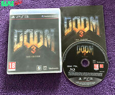 DOOM 3 BFG EDITION SONY PS3 PLAYSTATION 3 COMPLETE TESTED RARE!