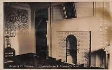 Saltfleet Manoa, Old Wallpaper & Crumwell's Panel 1913
