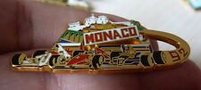 PIN'S F1 FORMULA ONE AYRTON SENNA FERRARI WILLIAMS MONACO 92 ARTHUS BERTRAND