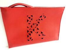 Kenzo Parfums Red Bag Pouch Clutch