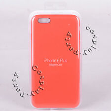 Original Apple Silicone Case Snap Cover For iPhone 6 Plus iPhone 6s Plus (Red)