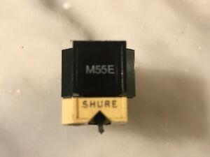 SHURE M55E CARTRIDGE AND GENUINE SHURE N55E STYLUS