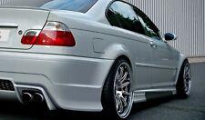 BMW Serie 3 E46 Berlina Coppia Minigonne Laterali Tuning Generation V 1998->2007