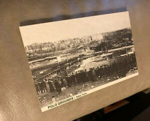 THE POLO GROUNDS STADIUM NEW YORK CITY VINTAGE TCMA 1974 BASEBALL POSTCARD