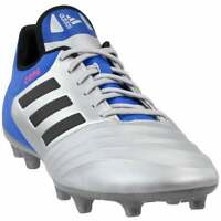 adidas Copa 18.3 Firm Ground  Casual Soccer  Cleats - Silver - Mens