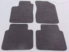 2006-2010 Hyundai Sonata 4 PC Custom Fit Carpet Floor Mat Set Gray w/Nibbed Back