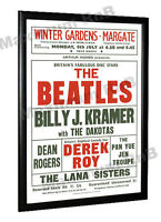 The Beatles Billy J Kramer Concert Poster Margate 1963