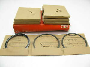 TRW T8113X Engine Piston Rings - Standard 1967-1970 GM 250