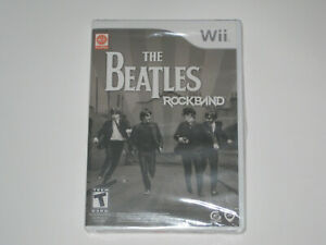 NEW! The Beatles: Rock Band (Nintendo Wii, 2009) BRAND NEW AND FACTORY SEALED.