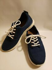 Reef Women's Shoes Navy Blue Sneaker Boat Size 7.5M Lace Up