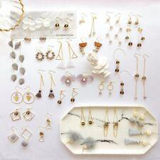 Women lady fashion beautiful alloy multiple style small hook pendent earrings