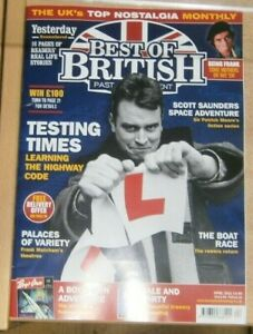 Best of British magazine Apr '21 Learning the Highway Code Frank Matcham theatre