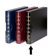 Lighthouse Maximum Extra Wide Binder and Slipcase For Stamps & Postcards Black