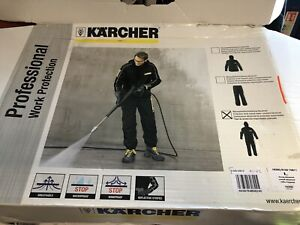 Karcher Overalls Water-Resistant Advanced Work Coveralls Large