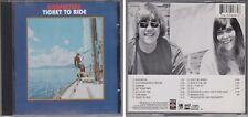 CARPENTERS Ticket To Ride 1986 Rebound A&M CD Karen & Richard Carpenter 70s Pop