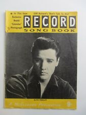 ELVIS PRESLEY disco CANZONE LIBRO 1963 ELVIS COVER STAR