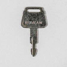 Kobelco-Kawasaki Excavator Heavy Equipment Key-New-Many Models-Case-Yutani #99