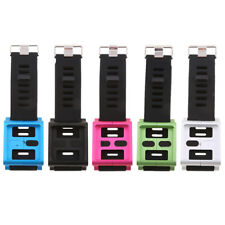 Aluminum Bracelet Watch Band Wrist Strap Case for iPod Nano 6 6th Gen