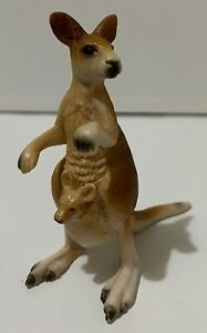 Schleich 14174 Kangaroo with Joey 9cm Tall