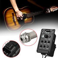 1x Fishman Presy Blend 301 Acoustic Guitar Pickup Preamp Tuner Piezo Mic Beat US