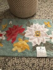 New listing New vern yip by skl Home Floral Totem Rug 20x30 in.