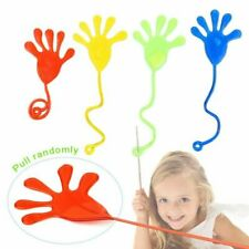 72pc Novelty Sticky Hands  Bright Colors Kids Party Favors Arcade Toys Prizes