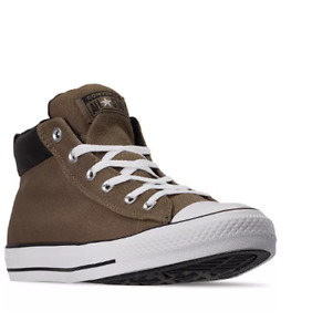 Converse Men's 11.5 Chuck Taylor Street Space Explored Sneakers Mid Top brown