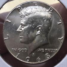 1968-D Kennedy 40% Silver Half Dollar Original 53 Year Old Classic Modern Coin!
